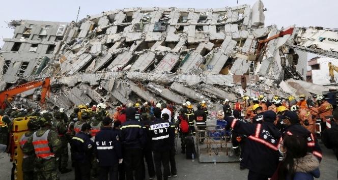 Tayvan depreminde ölü sayısı 114e yükseldi