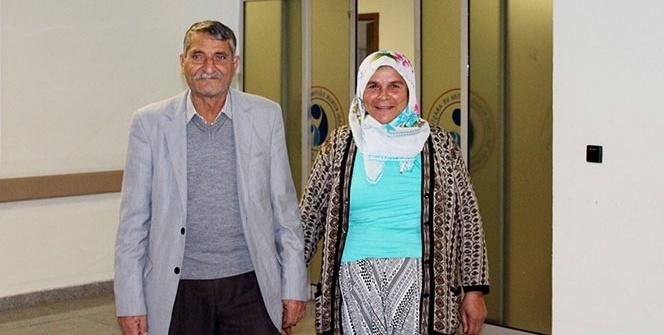 Fedakar eş, 42 yıllık hayat arkadaşına böbreğini bağışladı