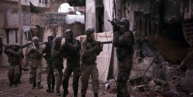 Terör operasyonlarına 'Diriliş Ertuğrul' jenerikli klip