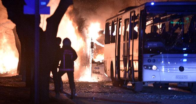 Ankarada Genelkurmay Başkanlığı yakınında patlama