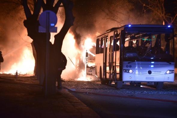 Ankara'da Genelkurmay Başkanlığı yakınında patlama