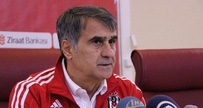 Şenol Güneş: Şampiyonlar Liginde iddialı bir Beşiktaş olmasını istiyoruz
