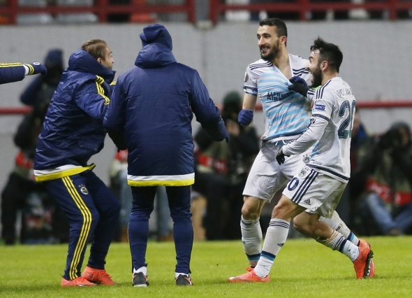 Lokomotiv Moskova 1- Fenerbahçe 1 maç özeti