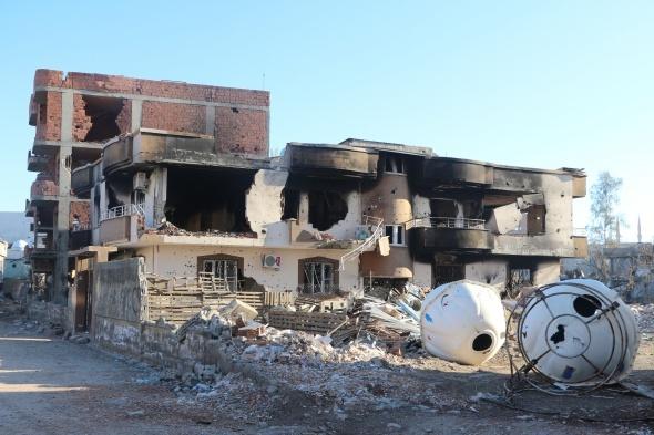 Çatışmaların ardından Cizre
