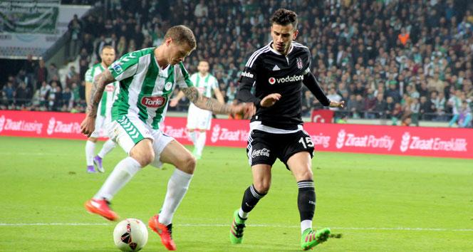 Torku Konyaspor 1 Beşiktaş 0 -Maç özeti-