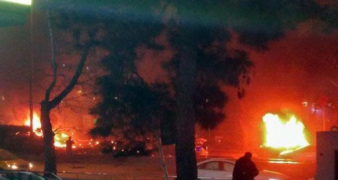 Ankarada büyük patlama!