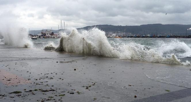 Doğu Karadenizde Fırtına Uyarısı