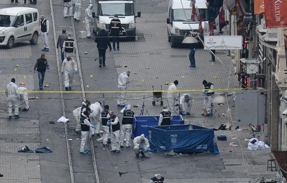İstiklal Caddesi'nde patlama: 4 ölü