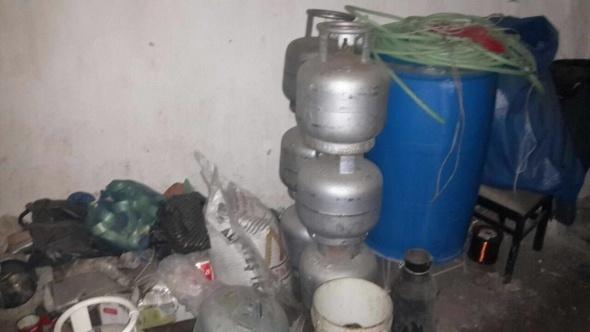 PKK'nın bomba imalathanesi imha edildi