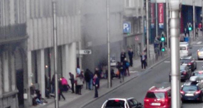 Brükselde bir patlama daha!