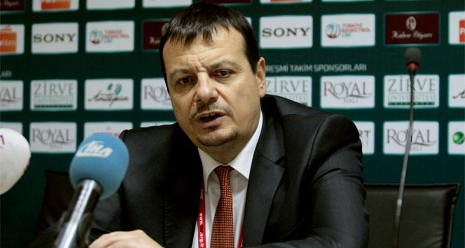 Ergin Ataman: Bu sezon hücum olarak en iyi oyunumuzu oynadık