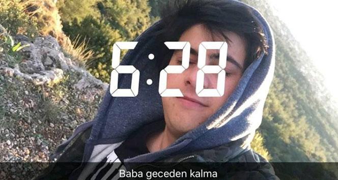 Son selfiesini paylaştığı yerde cesedi bulundu