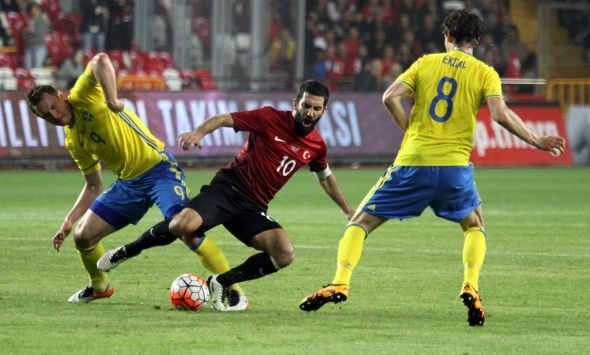 Türkiye 2 İsveç 1