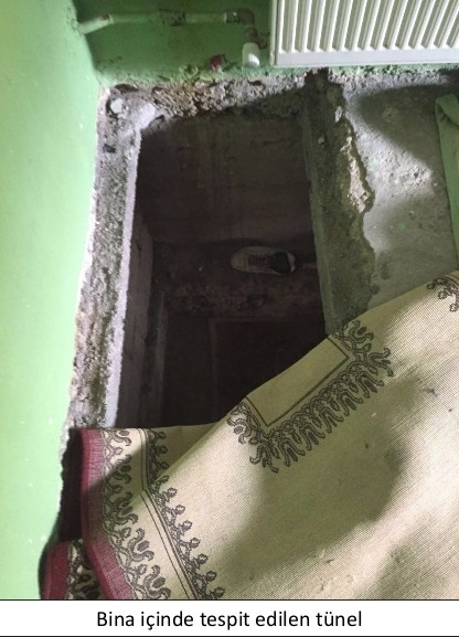 Yüksekova köstebek yuvasına döndü