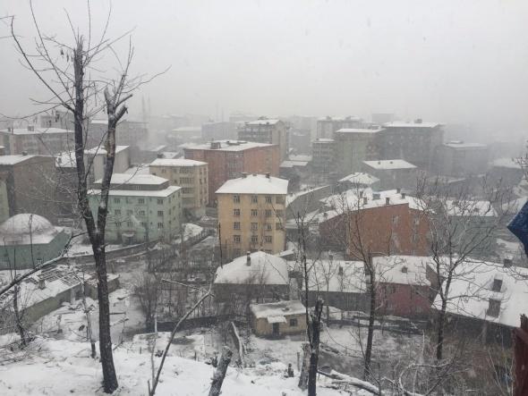 Operasyonlar olumsuz hava koşullarına rağmen devam ediyor