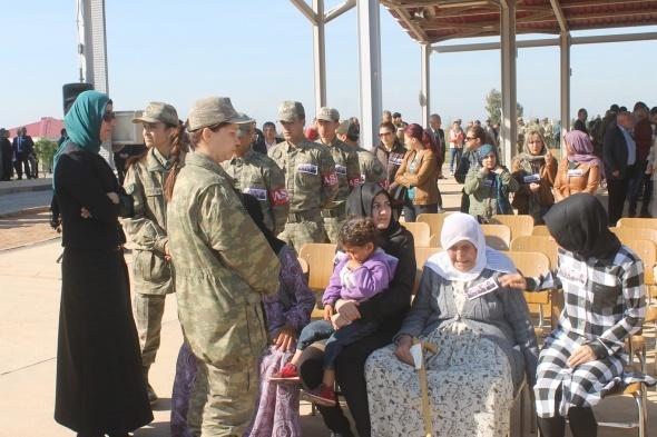 Nusaybin şehitleri için tören düzenlendi