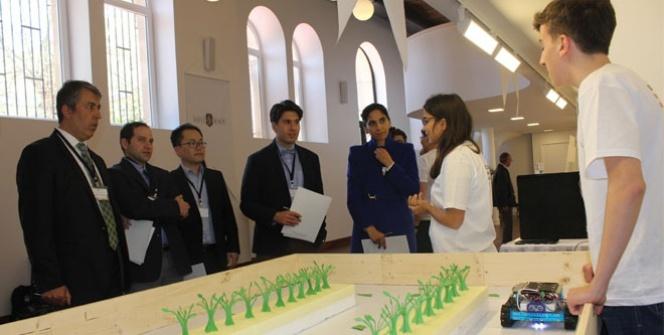 Çevre dostu robotlarda birincilik organik tarımı destekleyen projenin oldu
