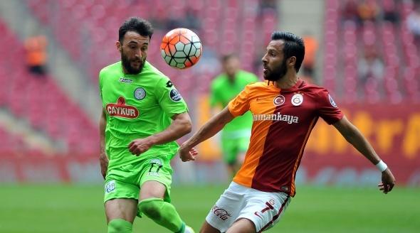 Galatasaray - Çaykur Rizespor maçı fotoğrafları