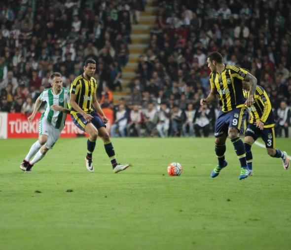 Konyaspor  Fenerbahçe maçı fotoğrafları