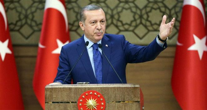 Erdoğan: Polis teşkilatımızı desteklemeye devam edeceğiz
