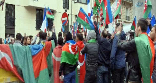 Azerbaycanlılar PKK sempatizanlarının saldırısını böyle püskürttü