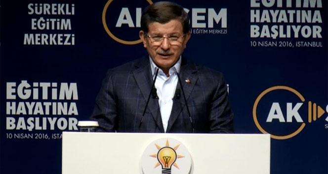 Başbakan Davutoğlundan Kılıçdaroğluna edep yahu göndermesi