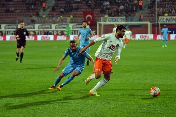 Trabzonspor - Medipol Başakşehir maçından kareler