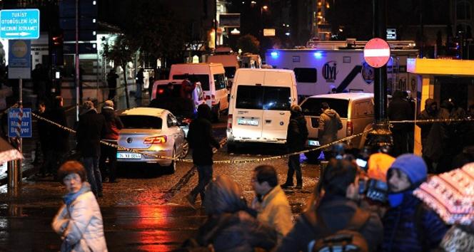Sultanahmetteki polis merkezine yapılan saldırıyla ilgili flaş gelişme!