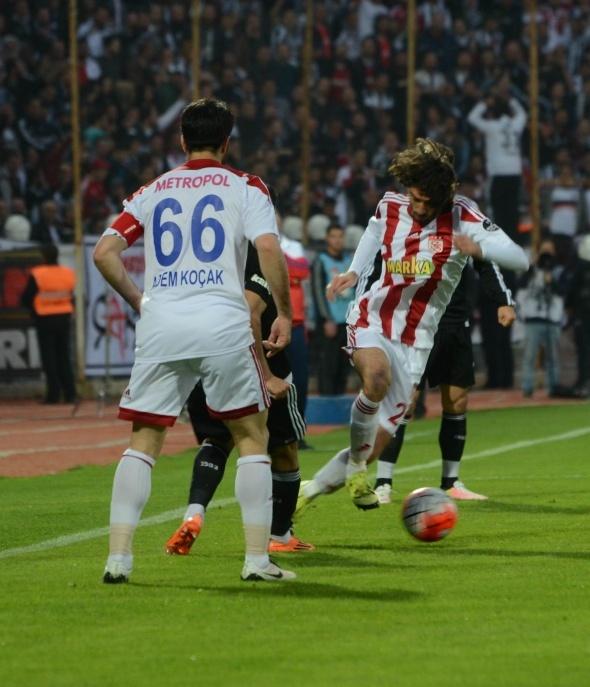 Medicana Sivasspor 1 Beşiktaş 2