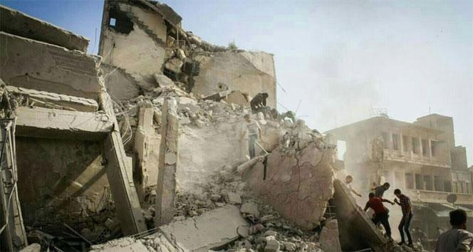 Suriyede hava saldırısı: 10 ölü