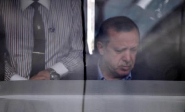 Cumhurbaşkanı Erdoğan vatman oldu
