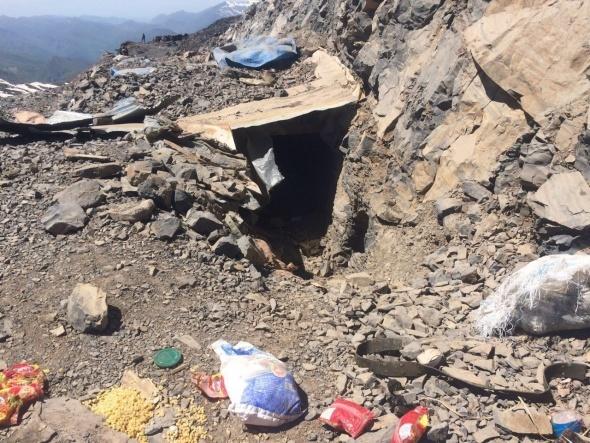TSK'dan PKK militanlarının saklandığı mağaraya operasyon