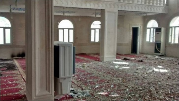 Teröristler camilere de zarar verdi