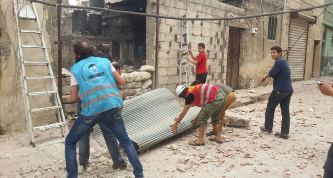 Halepte son 7 günde 202 sivil hayatını kaybetti