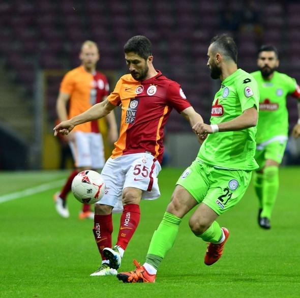 Galatasaray 0 Çaykur Rizespor 0 (Maç özeti)