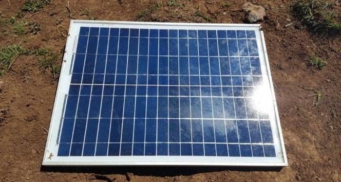 PKKya yönelik operasyonda güneş paneli ele geçirildi