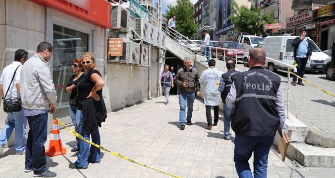 Başkentte filmleri aratmayan soygun girişimi
