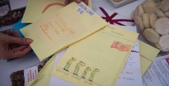 Gülben Ergen'den duygulandıran mektuplar