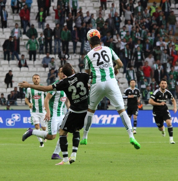 Torku Konyaspor 2 Beşiktaş 1 (Maç özeti)