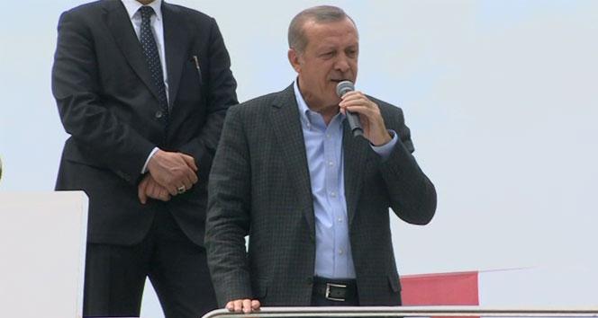 Erdoğan: Araçlarında silah taşıyanlar şimdi kaçmaya başladılar