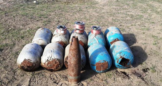 Iğdırda 500 kilo bomba ele geçirildi