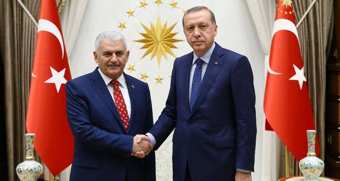 Yıldırım, kabine listesin yarın 10.00da Erdoğana sunacak