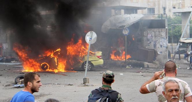 Suriyede 7 bombalı saldırıda 78 kişi öldü