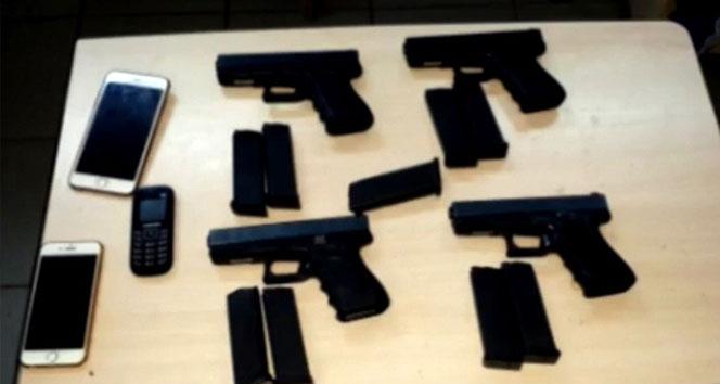 Samsunda silah kaçakçılığı operasyonu: 18 gözaltı