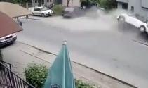 Trafik canavarı yayaları böyle ezdi: 1 ölü, 2 yaralı