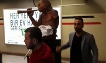 Aziz Kocaoğluna kızdı, çıplak heykeli balyozla kırdı
