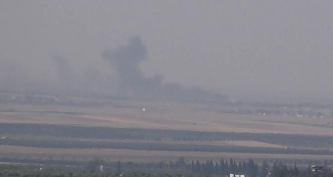 TSK obüslerle IŞİDi vurdu