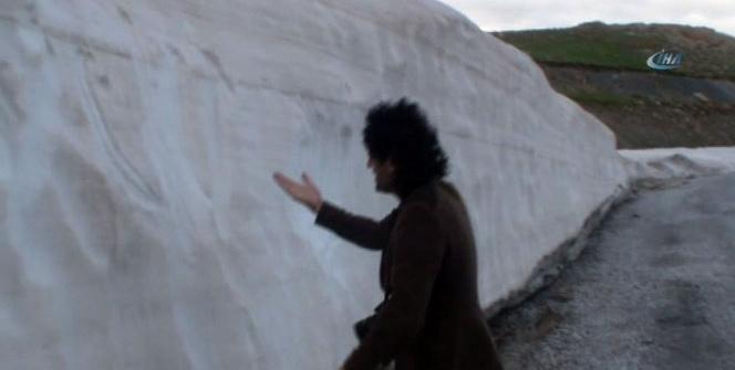 Mayıs ayı Karapet'in karını eritemedi