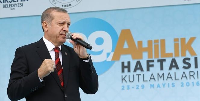 Erdoğan: 'FETÖ'yü terör örgütü olarak tescilini gerçekleştireceğiz'