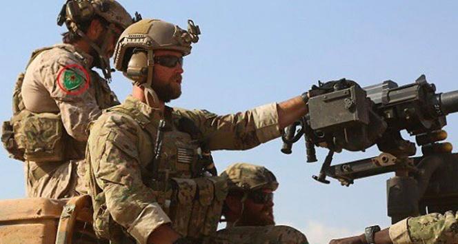ABDden YPG arması takan askerlerle ilgili açıklama